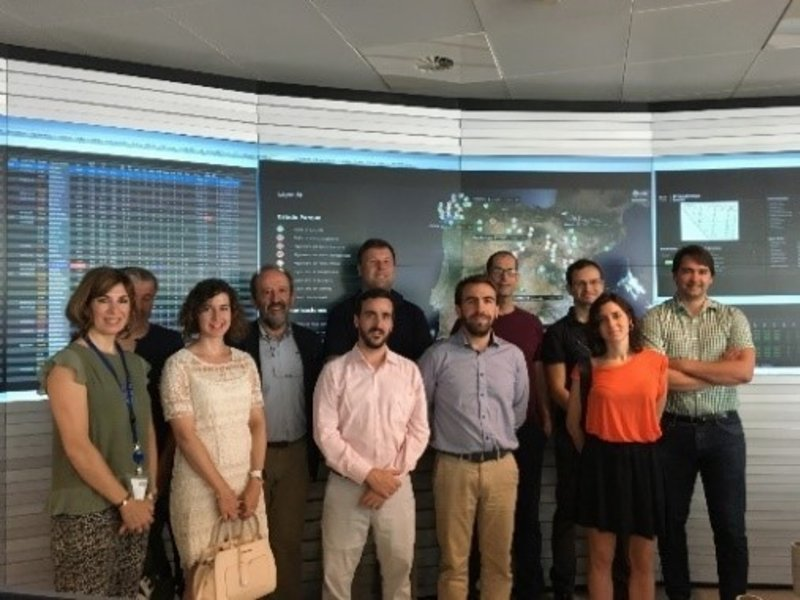 SIMULWIND project team visits Endesa